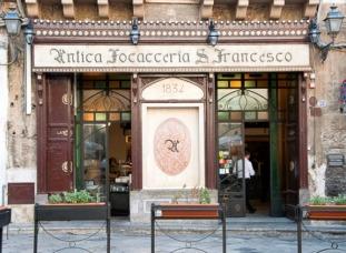 Popular restaurant in Palermo, Sicily